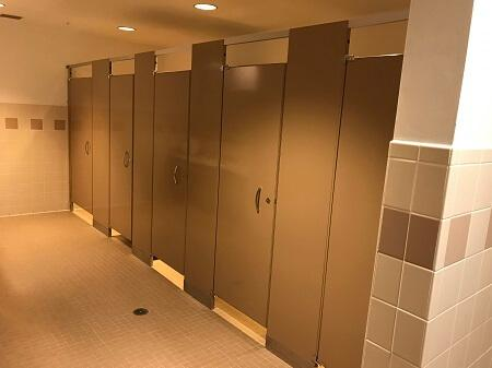 NoSight Privacy Partitions Door Hardware - Bathroom privacy partitions
